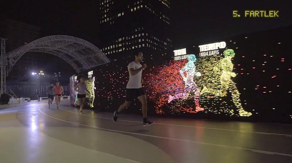 todos los días Destello Pacer  Nike constrói pista de LED nas Filipinas   Mercado&Consumo