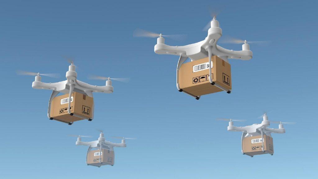 Teste com drones no Japão pode transportar pacotes de até 30 quilos |  Mercado&Consumo